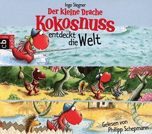 Der kleine Drache Kokosnuss entdeckt die Welt: Drei spannende Abenteuer in einer Box: Der kleine Drache Kokosnuss und die Reise zum Nordpol - Der ... auf dem Nil (Hörbuch Sonderausgaben, Band 3) (Auf Cd Hörbücher Kinder Für)