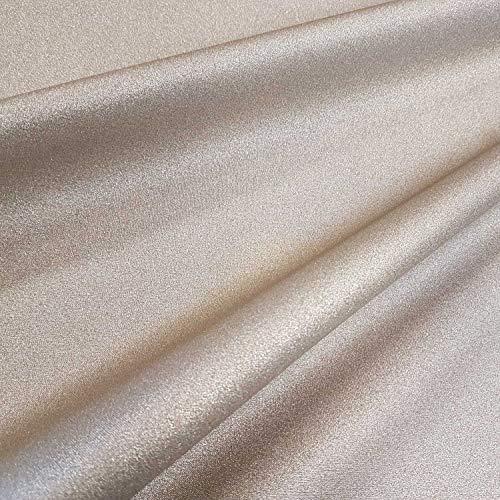 Werthers Stoffe Stoff Meterware Baumwolle Gold beschichtet Tischdecke Glitzer glänzend Metall abwaschbar