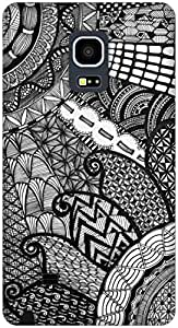 The Racoon Lean Patterns hard plastic printed back case / cover for Samsung Galaxy Note Edge