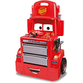 Smoby 7600360208 - Cars 3 Mack Truck Trolley