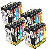 Win-Tinten Kompatibel Tintenpatronen Epson T1295 Druckerpatronen T1291 T1292 T1293 T1294 Kompatibel für Epson Stylus SX435W SX235W SX420W SX230 SX425W SX440W SX445W, Epson Stylus Office BX535wd Drucker