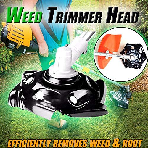 Sunday Weed Trimmer Gerät Tragbare Unkrautschneiderkopf Trimmer Garden Lawn Weed Edger Cutter Courtyard Mowing Tool (9.5 inches) -