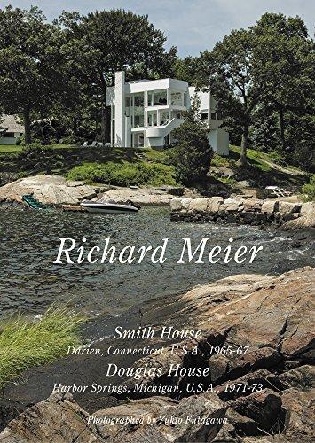 Richard Meier - Smith House, Darien Connecticut 1965-67, Douglas Home, Harbour Springs 1971-73 by Yukio Futagawa (2014-11-24)