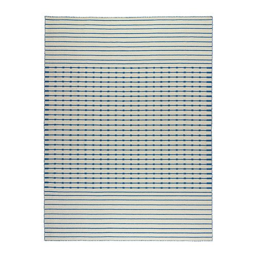 IKEA-TJAREBY-Rug-flatwoven-azul-170x240-cm