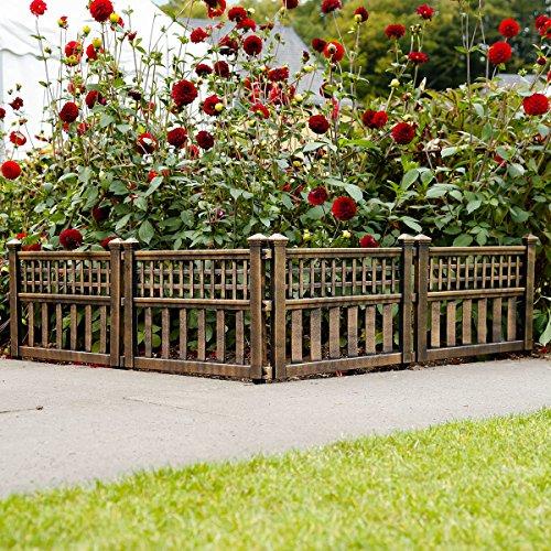 Gärtner Pötschke Gartenzaun Hofgarten, 4er-Set