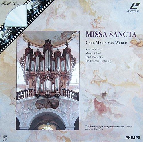 Weber: Missa Sancta (Laserdisc) (Symphonie Der Steine)