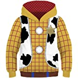 Toy Story 3d hoodie boy girls kids children Sweatshirts hooded Casual Sweats