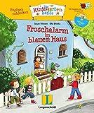 Froschalarm im blauen Haus - Buch mit digitalem Add-on und Hörspiel-CD: Englisch entdecken - Die Kindergartenbande