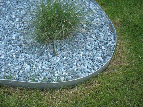 Rasenkanten, Beeteinfassung, Wegbegrenzung aus Metall 118 x 12 cm (10er Set)
