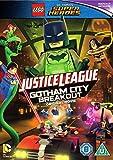 LEGO DC Justice League: Gotham City Breakout with Free Superhero Sticker Sheet [DVD] [2016] UK-Import, Sprache-Englisch.