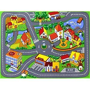HEVO Quiet Town Teppich Kinderteppich | Spielteppich 95×133 cm