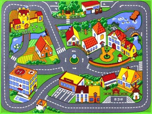 HEVO Quiet Town Teppich Kinderteppich | Spielteppich 95x133 cm
