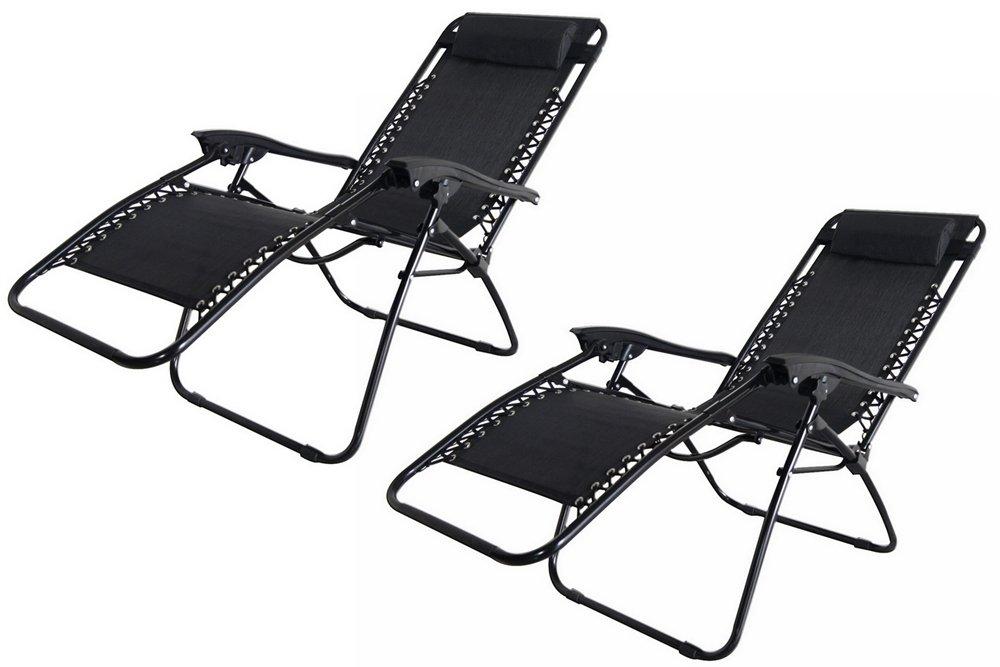 2x Palm Springs Zero Gravity Garden Chairs Lounge/Outdoor Yard Patio Chair  Tan: Amazon.co.uk: Garden U0026 Outdoors