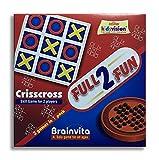 #3: MysticPlay Brainvita & Crisscross 2 in 1 Game Best for Birthday Return Gifts