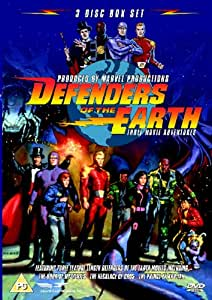 Defenders Of The Earth - Three Movie Adventures ( Sci-Fi Animation) [DVD] [2005]