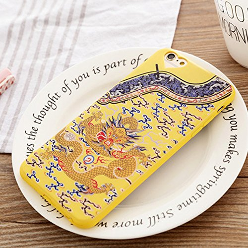 Cuitan TPU Doux Housse Case pour Apple iPhone 5 / 5s / se, Chinois Style Retour Housse Back Cover Protecteur Etui Coque Cover Housse Shell pour iPhone 5 / 5s / se Style 13