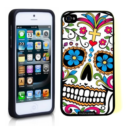 sugar-skull-dia-de-los-muertos-iphone-5-case-for-iphone-5-5g-designer-tpu-case-verizon-att-sprint