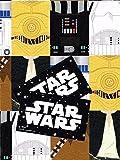 Star wars 2 Bögen Geschenkpapier und 2 Geschenkanhänger