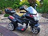 Lean Toys Elektromotorrad für Kinder HC8051 Schwarz