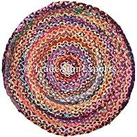 Suchergebnis Auf Amazon De Fur Jute Teppich Rund Bunt Kuche