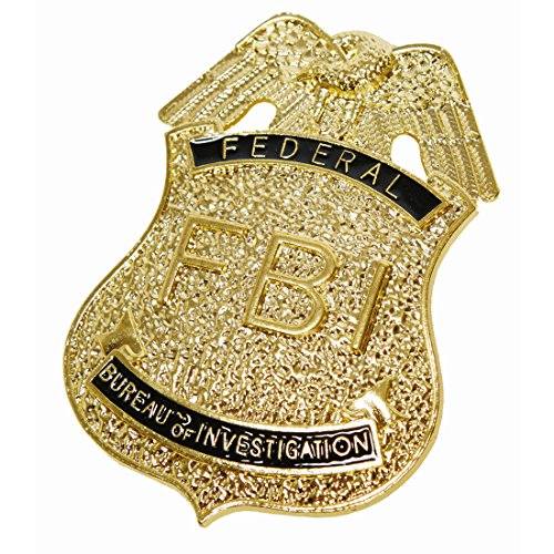 Nypd Kostüm Cop - NET TOYS FBI Marke Special Polizei Abzeichen US Police Batch USA Polizisten Dienstmarke Polizeimarke Anstecker Polizeiabzeichen Schmuck Karneval Kostüme Accessoires