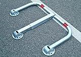 ARS480 barriera / dissuasore di parcheggio, con serratura, zincatura a caldo