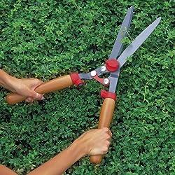 WOLF GARTEN Wooden Handle Hedge Shears HS-G