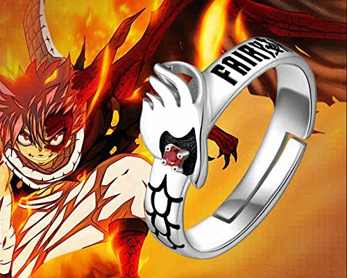 TAIL / DATE A LIVE / CODE GEASS / My Hero Academia Spielzeug Ring S925 Silber (FAIRY TAIL) ()