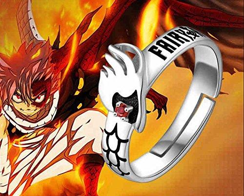 Skylynn--Anime FAIRY TAIL / DATE A LIVE / CODE GEASS / My Hero Academia Spielzeug Ring S925 Silber (FAIRY - Fehler Code Kostüm