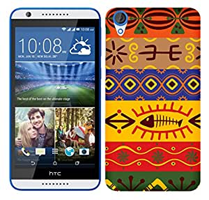 WOW 3D Printed Designer Mobile Case Back Cover For HTC Desire 820