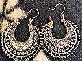 ? TRIBAL BOHO CREOLES ? Boucles d'oreilles magnifiquement décorées