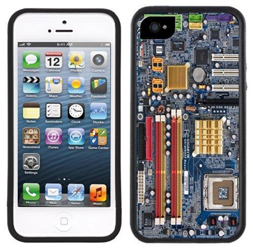 Motherboard | Handgefertigt | iPhone 5 5 s | Schwarze Hülle - Iphone Motherboard 5