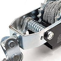 Generic o-1-o-3759-o R Cable de barco coche doble extractor mecánico de G gancho grúa iler 24TON 3m Gear barco ca gancho de remolque 2doble y gancho resistente cable NV _ 1001003759-nhuk17_ 1178