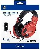 BigBen Interactive Cuffia Gaming con Licenza Ufficiale PS4 Rossa - PlayStation 4