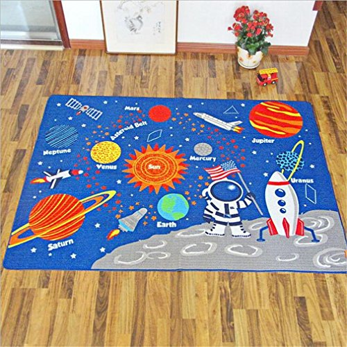 Teppich Kinder Baby Matten Spielteppich Fußmatten Baby Spielmatte Krabbeldecke Anti-Rutsch Verdicken Matten Bodentür/Vorleger/Wohnzimmer/ Gästezimmer Nylon 100*130Cm, 133*190Cm,133*190Cm