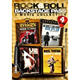 Rock & Roll Backstage Pass-4 Movie Collection
