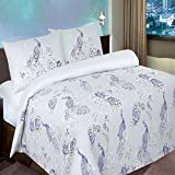 Pieridae Peacock Duvet Cover & Pillowcase Set Bedding Digital Print Quilt Case Single Double King Bedding Bedroom Daybed (Double)