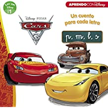 Cars 3. Un cuento para cada letra: p, m, l, s (Leo con Disney Nivel 1)