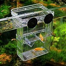 ETGtek(TM) 1pcs multifuncional Fish Box Cría de aislamiento que cuelga del tanque de pescados del acuario incubadora de accesorios
