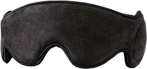 HoMedics TA-MSKV100BK-EU Mobile Comfort Vibrierende Reise-Augenmaske mit Lautsprechern