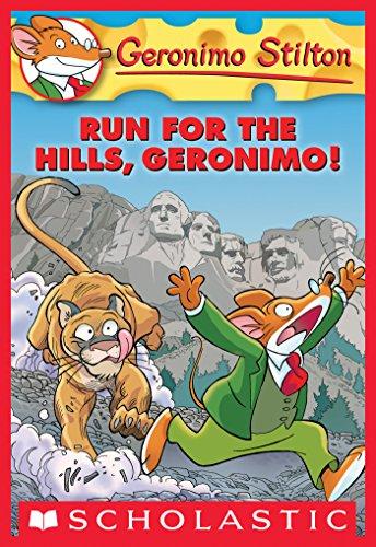 Geronimo Stilton #47: Run for the Hills, Geronimo! (English Edition) -