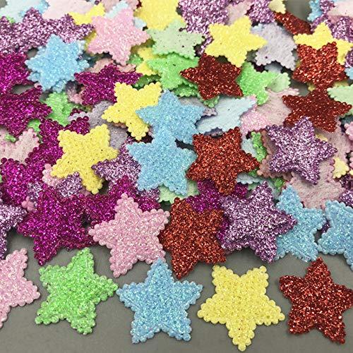 JiaHan 400pcs Colores Mezclados Lentejuelas Estrellas