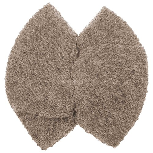 Bandeau Mohair Wool Blend bandeau protege oreilles beige fonce