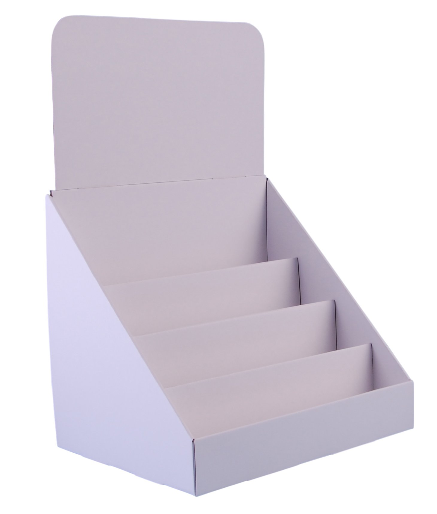 Stand Store 12 Inch 4 Tier Cardboard Greeting Card Display Stand