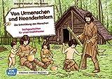 Von Urmenschen und Neandertalern. Die Entwicklung des Menschen: Sachgeschichten für unser Erzähltheater. Entdecken. Erzählen. Begreifen. Kamishibai Bildkartenset - Jeanette Boetius