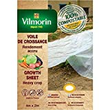 Vilmorin - Voile de croissance - farine de céréales - 2m x 4m 18µm