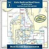 Sportbootkarte 1/2006 CD-ROM Kieler Bucht und Rund Fünen. Mit Lübecker Bucht, Nord-Ostsee-Kanal, Eider und Schlei