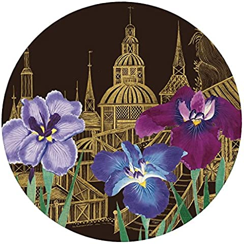 Caspari Palacio jardín Die Cut manteles individuales, multicolor, Pack de 4
