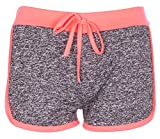 Noroze Mädchen Gymnastik Flecken Hot Pants Sportbekleidung Shorts Kurze Hose (7-8, Pinke)