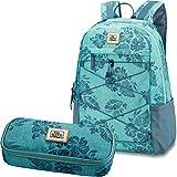 DAKINE 2er SET Rucksack Schulrucksack Laptop WONDER 22l + SCHOOL CASE Mäppchen Kalea